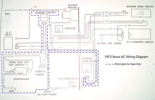 hooking up heater in ac heat delete car which resistor chevy nova forum. Black Bedroom Furniture Sets. Home Design Ideas