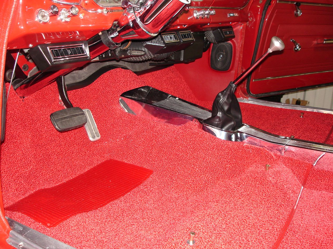 What floor mount shifter 4L60E Bench seat - Chevy Nova Forum