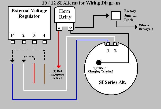 Alternator Wiring Help Please Chevy, Chevrolet Alternator Wiring Diagram