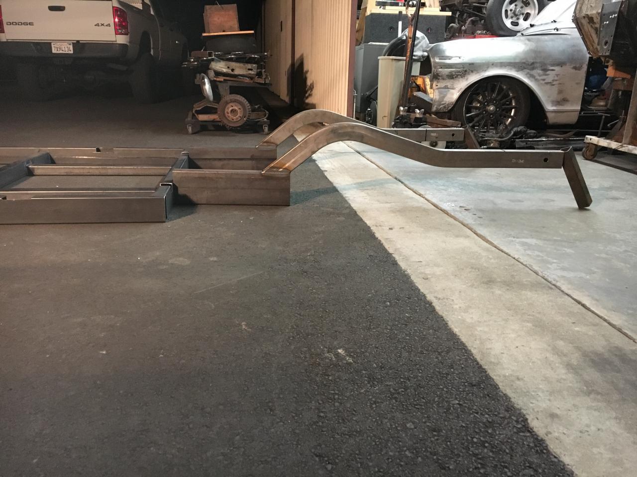 Autoweld frame rails & mini tub - Chevy Nova Forum