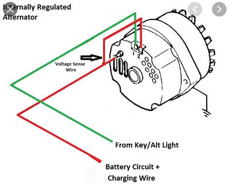 Alternator Is Still Draining My Battery, Chevrolet Alternator Wiring Diagram