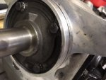 tranny inut shaft housing rub.JPG