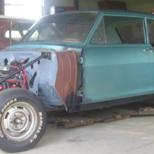 65 Chevy II with new qtrs
