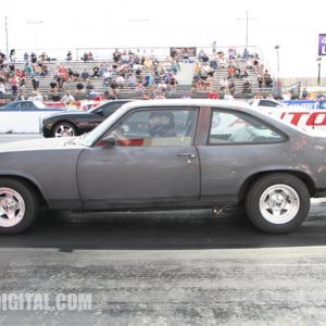 NMCA West Street Car Nationals at Fontana. Out for my Nova's first race.
