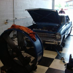 september 2009-- to the dyno. a new carb and thermostat and i got 537 lb/ft to the rear wheels.