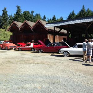 Ford & Friends car show july 2015