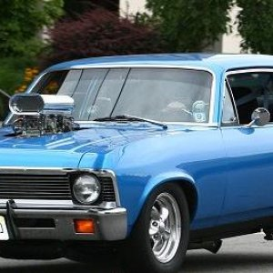 Wayout Willy 72 Blue Nova - finally painted...